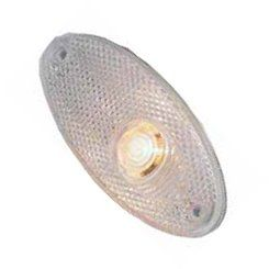 OVAL FRONT MARKER LAMP CLEAR