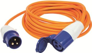 VECHLINE MAINS EXTENSION LEAD 25M WITH POLY BAG/COLOUR INSER