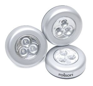 ROLSON 3 PIECE 3 LED STICKY LIGHT